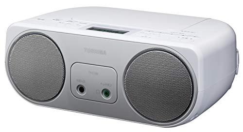 東芝 CDラジオ シンプルコンパクト TY-C150 (S) シルバー