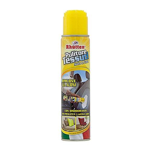 RHUTTEN Pulitore Tessuti con Spazzola 400ml Spray