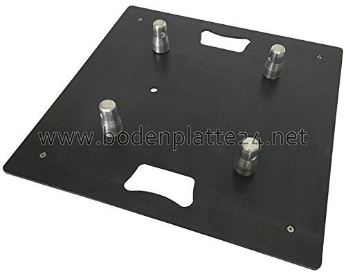 Traversen Truss Fuß Bodenplatte Base Plate Baseplate 50 x 50 cm 11 kg 3 4 Punkt