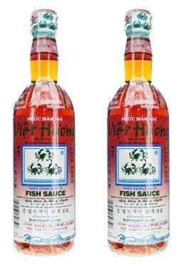 Three Crabs Milwaukee Mall Max 83% OFF Brand Fish Sauce 24-Ounce Bottle - of pa 2 4 Pack