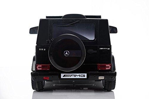 RC Auto kaufen Kinderauto Bild 4: Kaufexpress Mercedes Benz G65 AMG Jeep SUV Kinderfahrzeug Kinderauto Elektroauto Fernbedienung MP3 Anschluss in Schwarz*