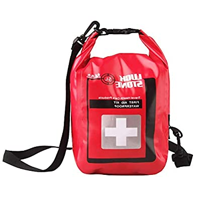 5L First Aid Bag PVC Empty First Aid Utility Pouch Lightweight and Compact with Shoulder Strap for Organization by DIYARTS