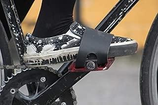 oopsmark Leather Pedal Belt Toe Straps