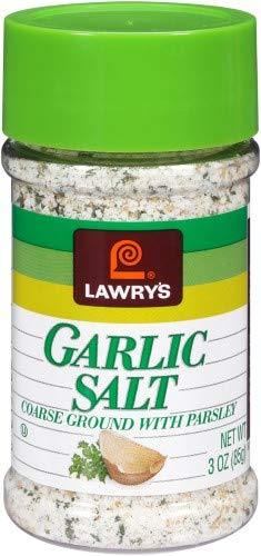 Lawry's Coarse Ground Garlic Salt, with Parsley (Pack of 2)
