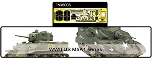 AFV Club 1:35 - Photo-etched parts for M5A1 (AFVTH35008)