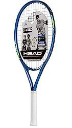 cheap Tennis Racquet for Kids HEAD Speed-Headlight Balance Jr Preload Racket for Beginners – 25 inch, blue