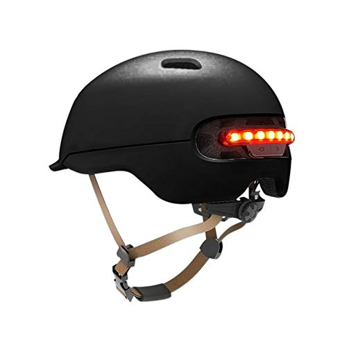 Dynamicoz Casco da Bici con LED per XIAOMI M365, Flash per Xiaomi M365 Scooter Elettrico Scooter Auto Elettrica Smart Flash Ideal, Elettrico Auto elettrica Smart Flash Casco da supportable