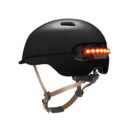 STARTER Casco Inteligente De Advertencia con Flash LED para El Scooter Eléctrico Xiaomi M365 Y Otras Bicicletas O Motocicletas Eléctricas