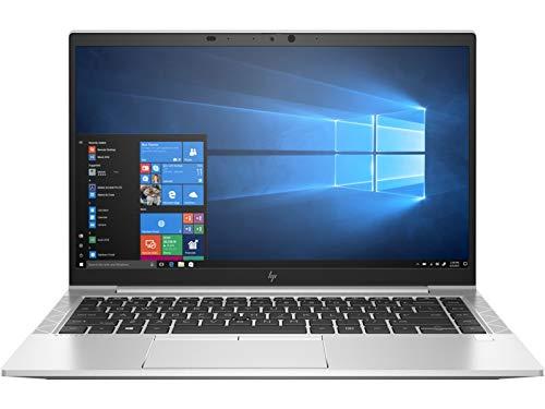 "Newest HP EliteBook 840 G7 14"" FHD IPS Premium Business Laptop, 10th Gen Intel Core i7-10610U, 16GB RAM, 512GB PCIe SSD, Backlit Keyboard, Fingerprint Reader, WiFi 6, USB-C, Windows 10 Pro, Silver"
