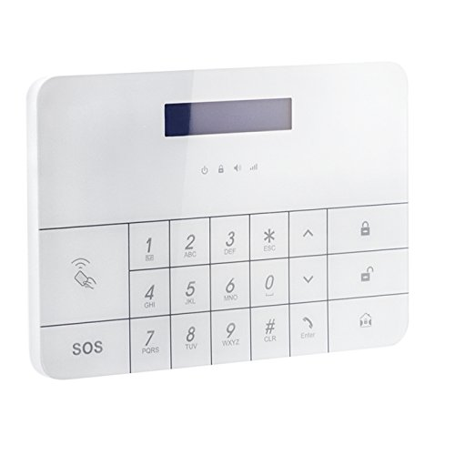 LCD draadloos alarmsysteem PG100 GSM draadloos alarmsysteem huis draadloos van Kobert-Goods