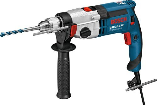 Preisvergleich Produktbild Bosch Professional 060119C600 Schlagbohrmaschine Bosch GSB 21-2 RE,  1100 W,  1100 V