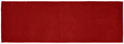 Garland Rug Queen Cotton Runner Washable Rug, 22-Inch by 60-Inch, Chili Pepper Red