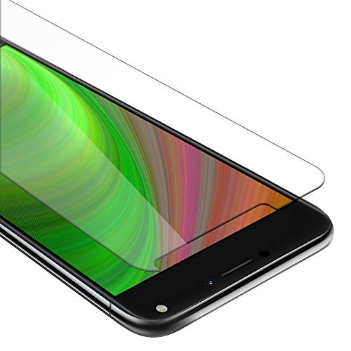 Cadorabo Película Protectora para ASUS ZenFone 4 MAX (5,5 Zoll) en Transparencia ELEVADA - Vidrio Templado (Tempered) Cristal Antibalas Compatible 3D con Dureza 9H