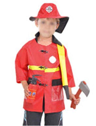 EZSTAX Disfraz de Bomberos para Niños de Halloween: Amazon.es ...