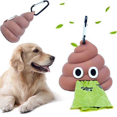 Distributore Di Sacchetti Per Cacca Di Cane Pattumiera Portatile Dispenser Di Silicone Sacchetti Per Cacca Di Cane Vasino Per Animali Domestici Per Lettiere Di Animali Domestici e Rifiuti Di Cani