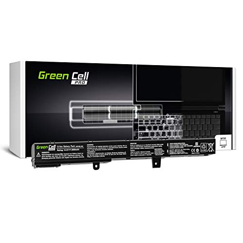 Green Cell PRO Serie A41N1308 A31N1319 Accu Laptop Batterij voor ASUS X551 X551C X551CA X551M X551MA X551MAV R512 R512C R512CA F551 F551C F551M D550 D550C D550CA (Samsung Cellen 2600mAh 14.4V)