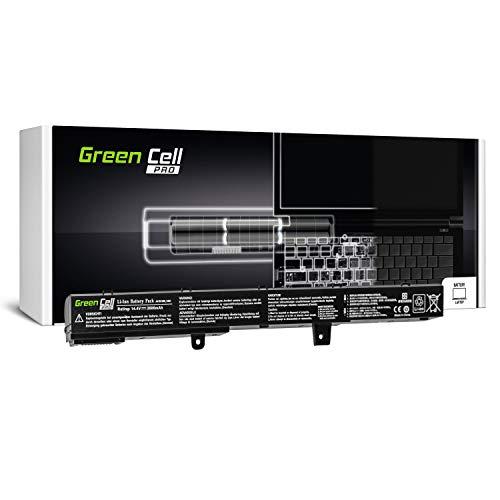 Green Cell PRO Serie A41N1308 A31N1319 Batteria per Portatile ASUS X551 X551C X551CA X551M X551MA X551MAV R512 R512C R512CA F551 F551C F551M D550 D550C D550CA (Le Pile Originali Samsung SDI, 2600mAh)