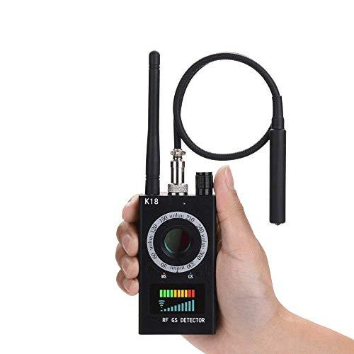 Lovevv Detector de RF Anti-spyware señal de Detector de Error inalámbrico para Ocultar la Lente del Laser de la cámara gsm Escucha Dispositivo buscador Radar Radio escáner señal inalámbrica Alarma