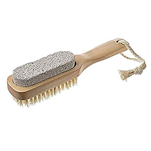 Natuurlijke zwijnborstel badschoen douche borstel slippers badschoenen borstel voor voeten puimsteen voetwasmachine borstels