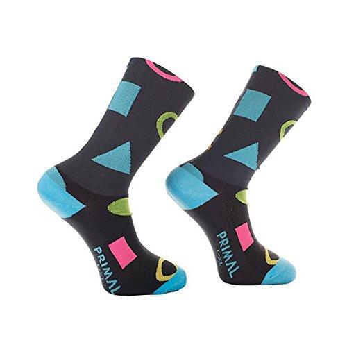Primal Wear Herren Get In Shape Cycling Bike Socken, Mehrfarbig, Size 9-13/Large/X-Large