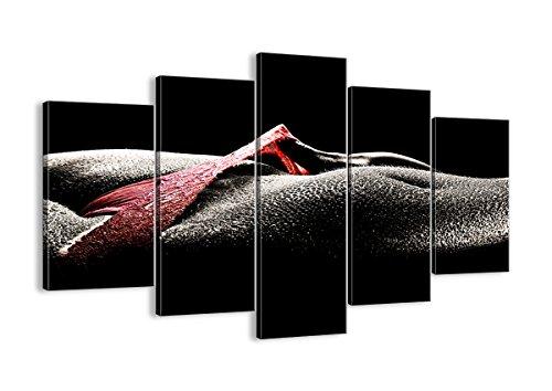 Bild auf Leinwand - Leinwandbilder - fünf Teile - Breite: 150cm, Höhe: 100cm - Bildnummer 0350 - fünfteilig - mehrteilig - zum Aufhängen bereit - Bilder - Kunstdruck - EA150x100-0350