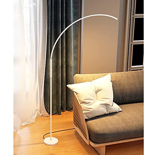 FYRMMD Lámpara de pie de Arco LED, lámpara de pie contemporánea - Moderna, lámpara arqueada Desde detrás del sofá - Sala de Estar o de (lámpara de pie)