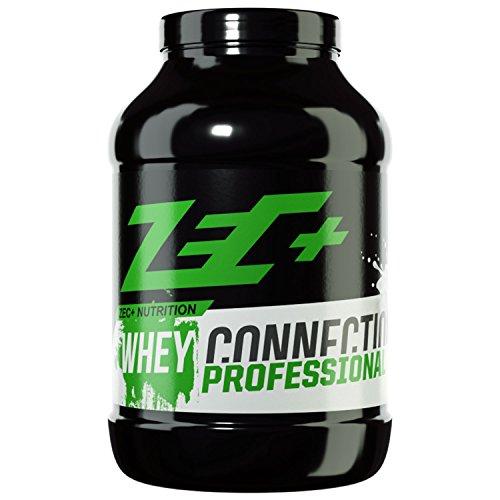 ZEC+ Whey Connection Professional – 1000 g, Proteinpulver aus Whey Konzentrat & Whey Protein, Protein Shake mit Eiweißpulver & Aminosäuren (BCAAs), Geschmack Knopptology