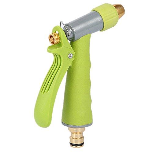 Pistola de Riego Pistola de agua Suministros de jardín Limpiador de alta presión for el hogar Pistola de pulverización hermética Adecuado for riego de jardines Lavado de vidrio Lavado de autos y ducha