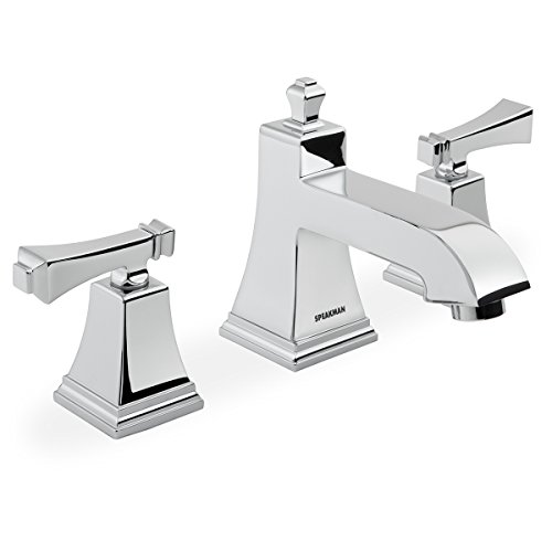 "Speakman SB-1321-E Rainier Collection Widespread Faucet, 8"", Chrome"