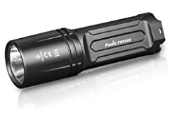 3200 Lumen tactical flashlight with 6 lighting modes and strobe Powered by two 18650 rechargeable Li-ion batteries Innovative Toggle switch for free switching between tactical, outdoor and lockout modes Made of high-strength and oxidation resistant a...