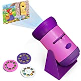Mini Princess Fairy Tales Light Projector | Girls Toy Flashlight for Kids and Toddlers | 24 Images on 3 Discs