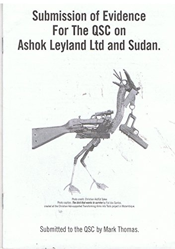 Submission of Evidence for the QSC on Ashok Leyland for sale  Delivered anywhere in UK