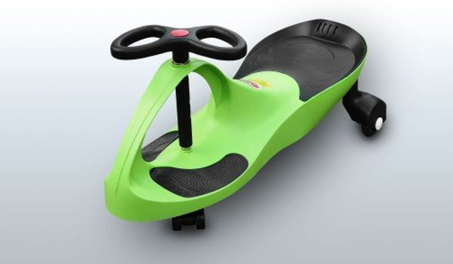RIRICAR Lime  swing car for kids with silent PU wheels