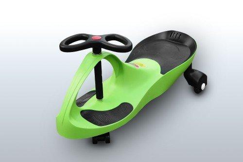 RIRICAR Lime Spielzeugauto für Kinder - Antrieb durch Lenkbewegung, mit Flüsterrädern
