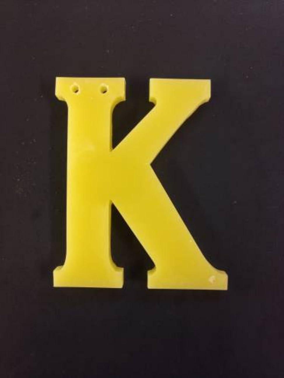 友情バランスのとれたサイズGRASSE TOKYO AROMATICWAXチャーム「K」(YE) ベルガモット アロマティックワックス グラーストウキョウ