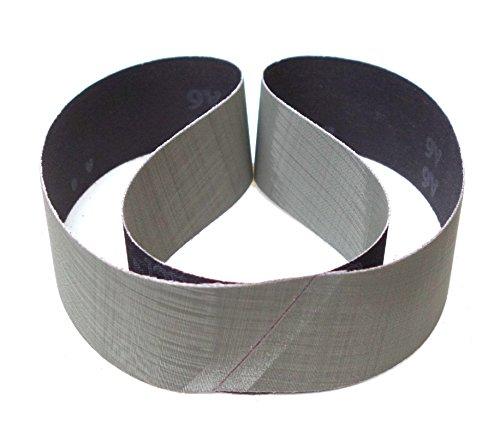 8-teiliges Premium Set 3M Schleifband Trizact 237AA | 50 x 1020 mm | z.B. für Metabo BS 175 oder BS 200 | Je ein Band der Körnungen A006, A016, A030, A045, A065, A080, A100, A160