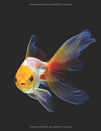 Aquarium Tagebuch: Planer, Notizbuch, Bestandsbuch, Futterplan für alle Auqarianer und Aquaristik Fans ♦ Logbuch für über 100 Einträge ♦ A4+ Format ♦ Motiv: Goldfisch 3
