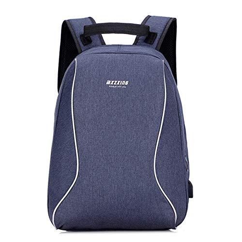 YOOKNEL Rugzak met stopcontact Usb Rugzak Schoolrugzak voor reizen Business Rugzak in Grado voor hosten van laptop 14-15,6 inch
