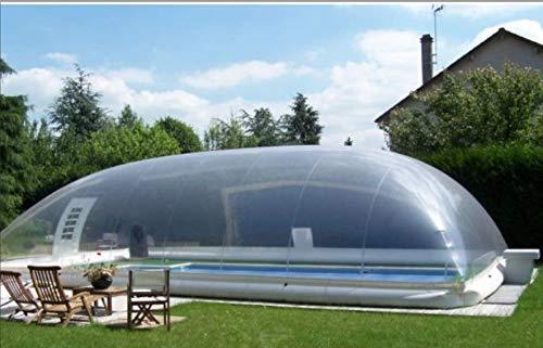 ABRI Aufblasbarer Pool Dome 8 x 5 m
