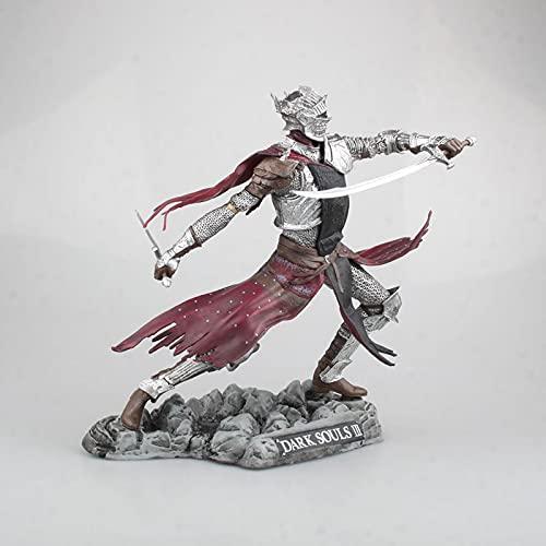 XJXJ-PS4 Game Dark Souls 3 Red Knight Statue Edición limitada de coleccionista Modelo en caja Figura-25cm (9.8 pulgadas) Muñeca modelo de juguete de regalo, decoración del hogar, regalo de cumpleaños