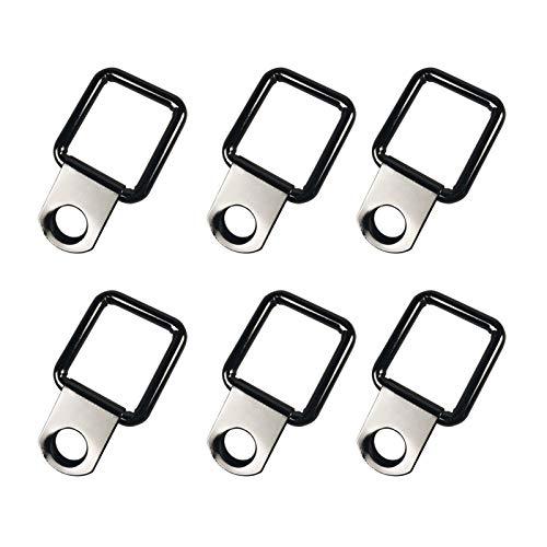 XIAOFANG 6 stücke leitring Ring Haken peitschen peitschendecke montieren fit for anhänger LKW Boot Auto Koffer