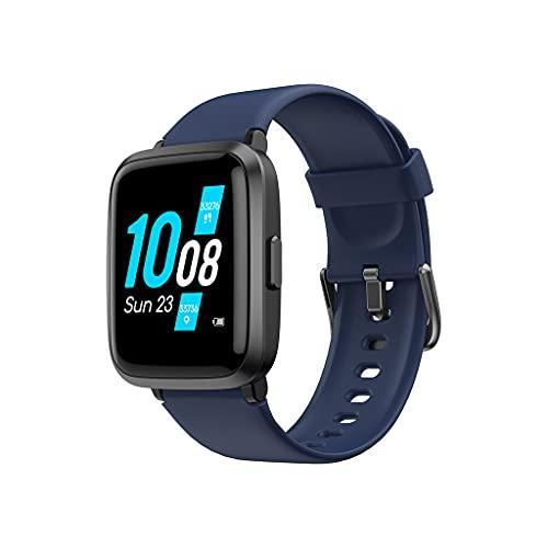 DSJMUY Smartwatch Mujer Reloj Inteligente IP68 con 9 Modos de Deporte,Pulsómetro,Monitor de Sueño,Notificaciones Inteligentes,Táctil Completo Smartwatch