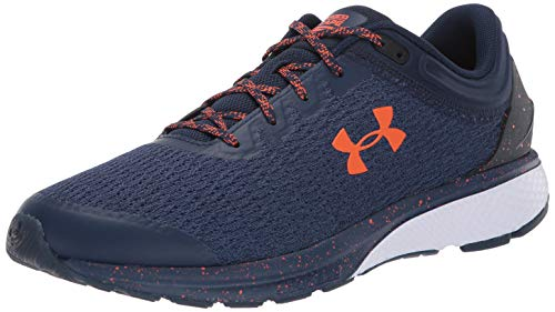 Under Armour Men's Charged Escape 3 Running Shoe, Academy (402)/White, 9.5