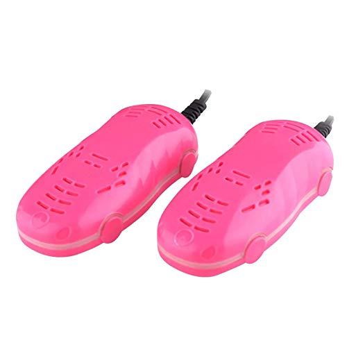 ZR&YW Kid Schuhtrockner, Schuhwerk Socken Glove Deodorizer Tragbare Fuß Heater, Deodorant Trocknung Prevent Geruch Für 2-5 Jahre Alt, Rosa