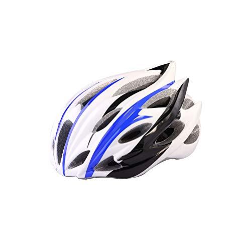 GuoYq Ultraleichter Fahrradhelm, pneumatischer PC + EPS-Materialhelm, Mountainbike-Straße, selbstfahrendes Skateboard, Balance-Skifahren, Einstellbarer Sicherheitsschutz