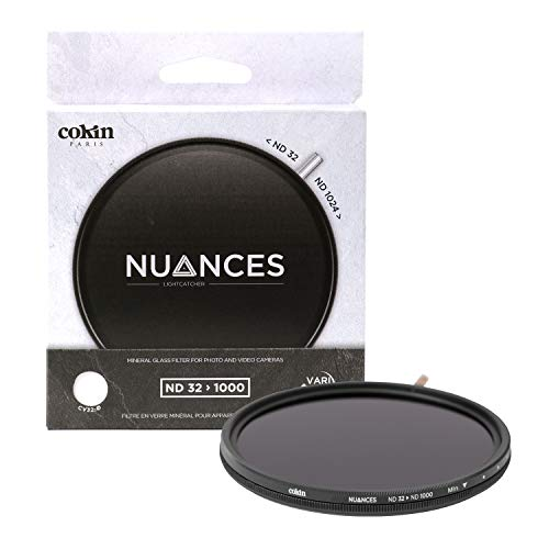 Cokin cnv32 – 58 – Filtro de Densidad Neutra (58 mm), Color Gris