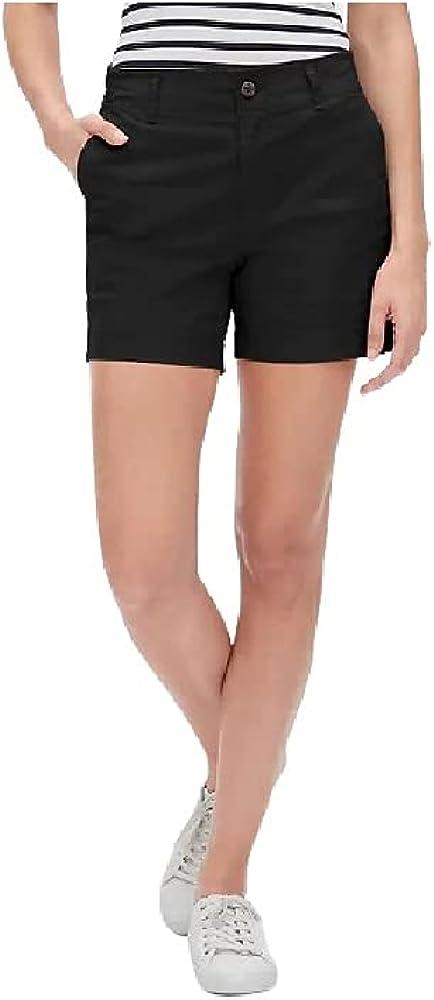 Gap 5'' Khaki Shorts with Washwell (Black / 0)