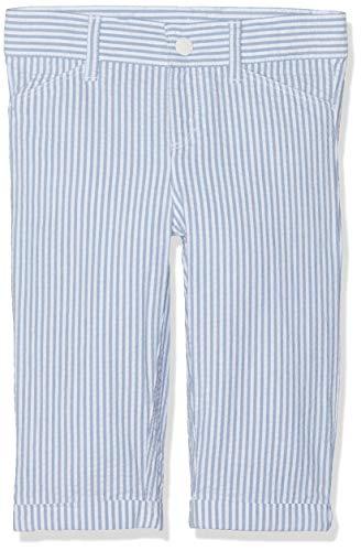 Petit Bateau Bar Pantalon, Multicolore (Fontaine/Marshmallow 02), Nouveau-né (Taille Fabricant: 36 Mois) Bébé garçon