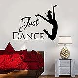 Just Dance Wall Art Stickers Home Decor Detachable Waterproof Vinyl Mural Sticker -57x76cm
