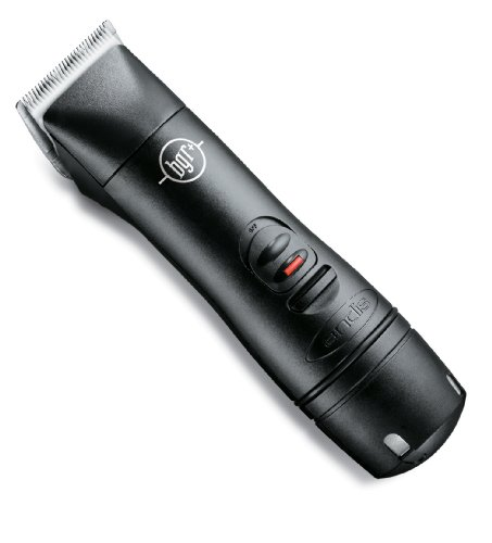 Andis Professional Ceramic Hair Clipper with Detachable Blade, Model BGR+, Black (64850)